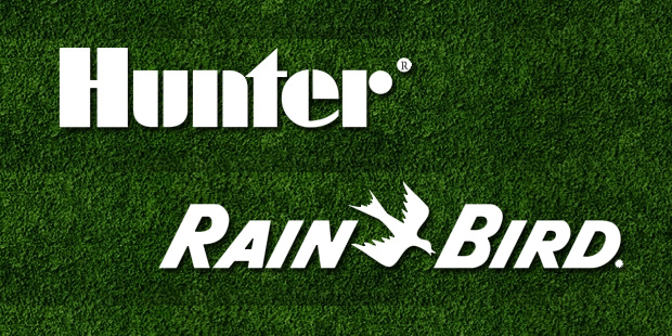 Hunter and Rainbird Sprinklers